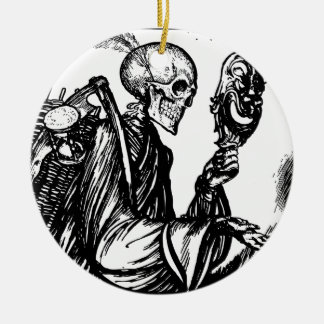 The death calls christmas ornament