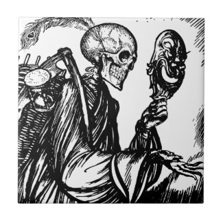 The death calls the death calls ceramic tile
