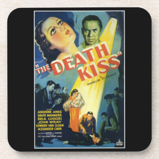 The Death Kiss Monster Movie Coasters