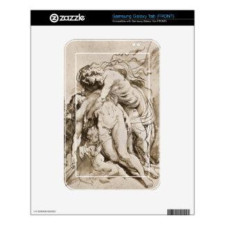 The Death of Adonis by Paul Rubens Samsung Galaxy Tab Decal