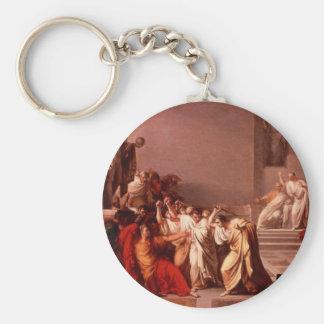 The Death of Caesar Basic Round Button Keychain