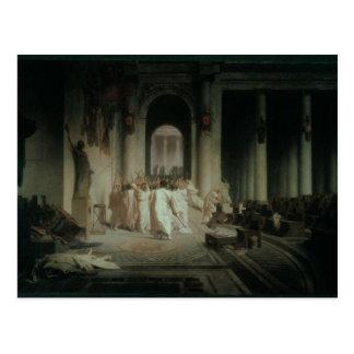The Death of Caesar Postcard