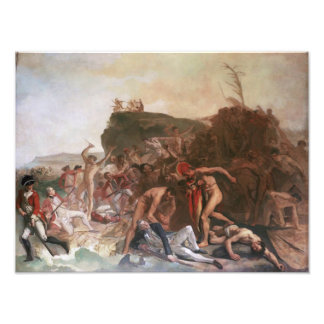 """The Death of Captain Cook 12""""x16"""" poster"""