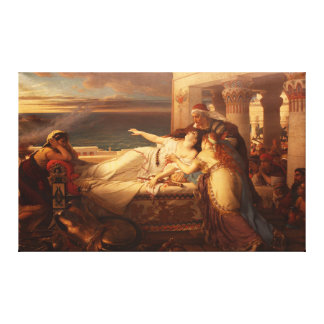 The Death of Dido by Joseph Stallaert 1872 Canvas Print
