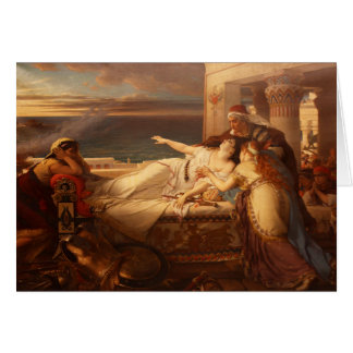The Death of Dido by Joseph Stallaert 1872 Card