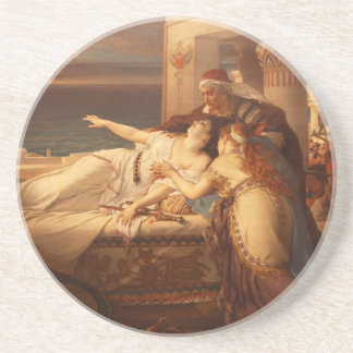 The Death of Dido by Joseph Stallaert 1872 Drink Coasters