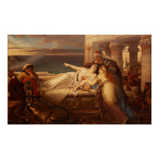 The Death of Dido by Joseph Stallaert 1872 Poster