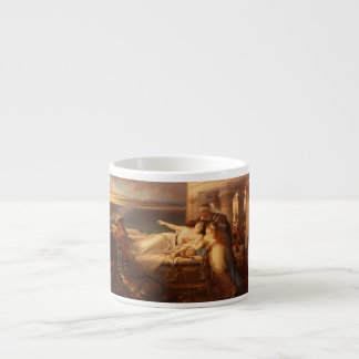 The Death of Dido by Joseph Stallaert 1872 Espresso Mug