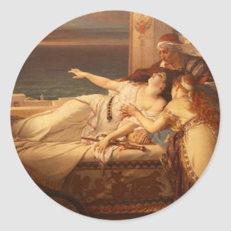 The Death of Dido by Joseph Stallaert 1872 Stickers