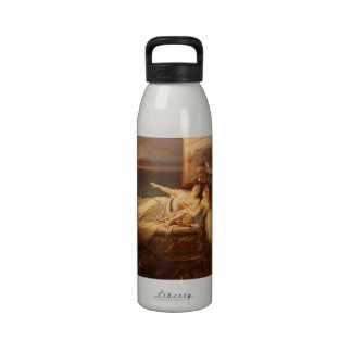 The Death of Dido by Joseph Stallaert 1872 Reusable Water Bottle