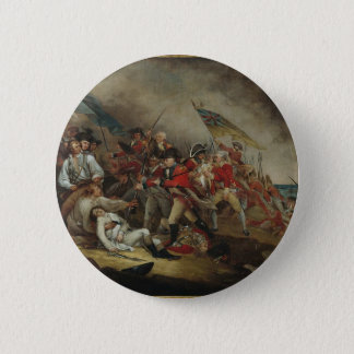 The Death Of General Warren At Bunker Hill Button