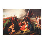 The Death of General Wolfe by Benjamin West 1770 Gallery Wrapped Canvas