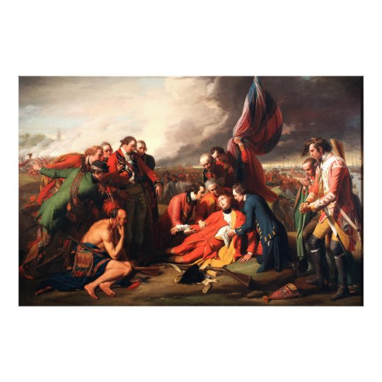 The Death of General Wolfe by Benjamin West 1770 Photo Print