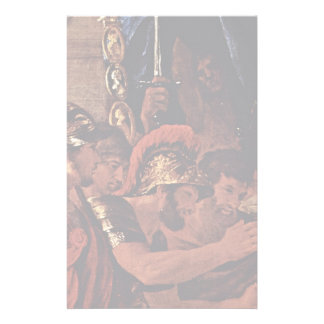 The Death Of Germanicus Detail By Poussin Nicolas Stationery