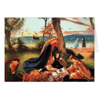The Death of King Arthur Card