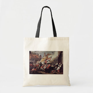 The Death Of Major Peirson By John Singleton Copl Budget Tote Bag