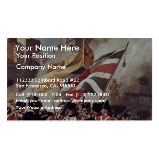 The Death Of Major Peirson By John Singleton Copl Double-Sided Standard Business Cards (Pack Of 100)