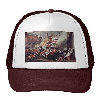 The Death Of Major Peirson By John Singleton Copl Trucker Hat