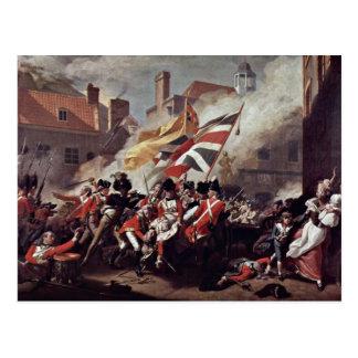 The Death Of Major Peirson By John Singleton Cople Postcard