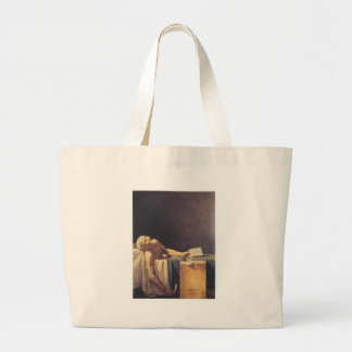 The Death of Marat Large Tote Bag