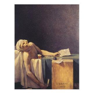 The Death of Marat Postcard