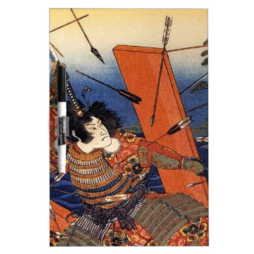 The Death of Nitta Yoshioki at the Yaguchi Ferry Dry Erase Boards
