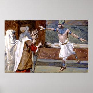 The Death Of Pharaoh's Son During The 10th Plague Print