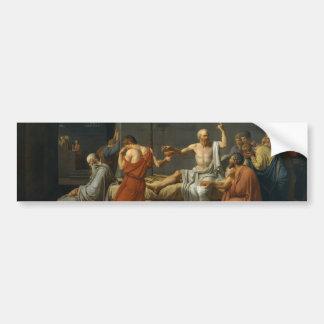 The Death Of Socrates Bumper Sticker