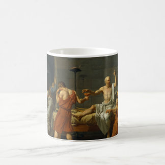 The Death of Socrates by Jacques-Louis David 1787 Coffee Mug