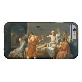 The Death of Socrates by Jacques-Louis David Barely There iPhone 6 Case