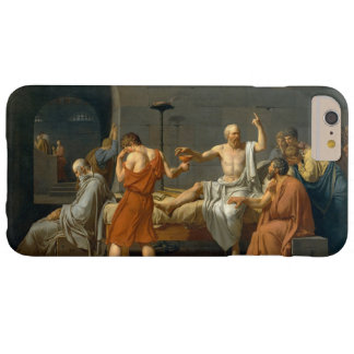The Death of Socrates by Jacques-Louis David Barely There iPhone 6 Plus Case
