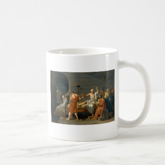 The Death of Socrates by Jacques-Louis David Coffee Mug