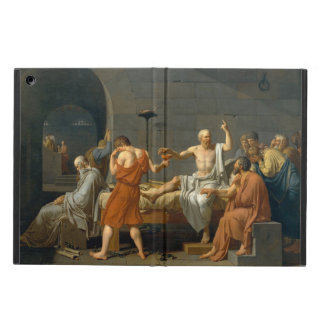 death of socrates by jacques louis david essay The painting: moralizing themes were immensely popular in the tumultuous period preceding the french revolution, and many artists painted the death of the athenian moral philosopher socrates (born 470/469 bc), but none with the success of jacques louis david from its first exhibition at the salon of 1787, his canvas has been widely admired.