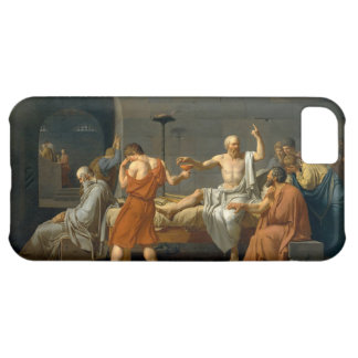 The Death of Socrates by Jacques-Louis David iPhone 5C Covers