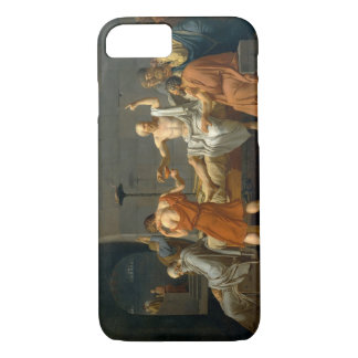 The Death of Socrates by Jacques-Louis David iPhone 7 Case