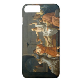 The Death of Socrates by Jacques-Louis David iPhone 7 Plus Case