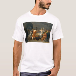 The Death of Socrates by Jacques-Louis David T-Shirt