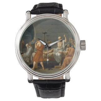 The Death of Socrates by Jacques-Louis David Watches