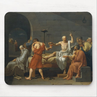 The Death Of Socrates Mouse Pad