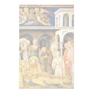 The Death Of St. Martin By Martini Simone Customized Stationery