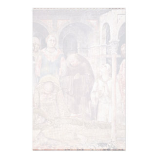 The Death Of St. Martin By Martini Simone Personalized Stationery