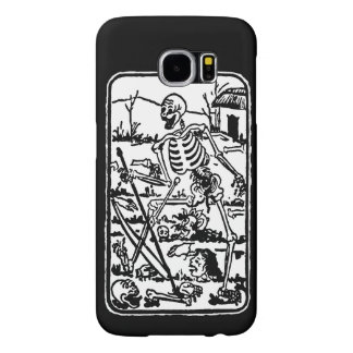 The Death - old Indian/Asian Tarot Card Samsung Galaxy S6 Case
