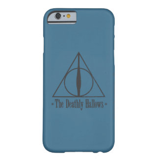The Deathly Hallows Barely There iPhone 6 Case