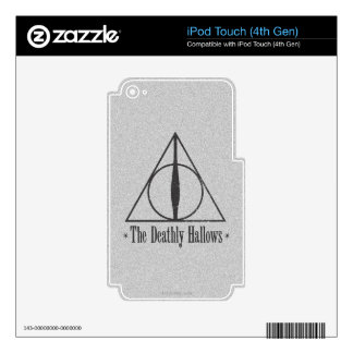 The Deathly Hallows iPod Touch 4G Decals