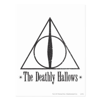 The Deathly Hallows Post Cards
