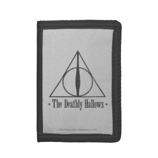 The Deathly Hallows Trifold Wallets