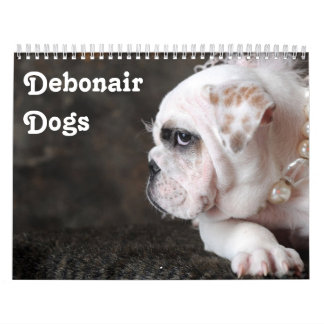 The Debonair & Charming Dog Calendar