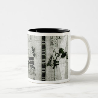The deceased accompanied by his sister Two-Tone coffee mug