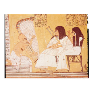 The deceased and his wife postcard