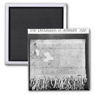 The Declaration of Arbroath, 6 April 1320 Magnet